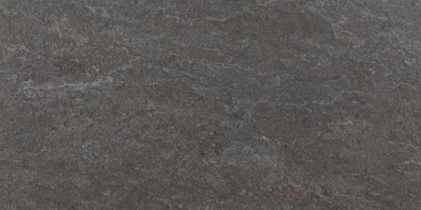 Robuuste vloertegel in de kleur zwart van Berenpop