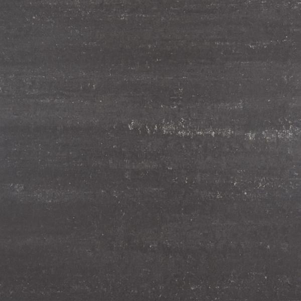 Sierlijke vloertegel in de kleur zwart van Tegelhuys Goes