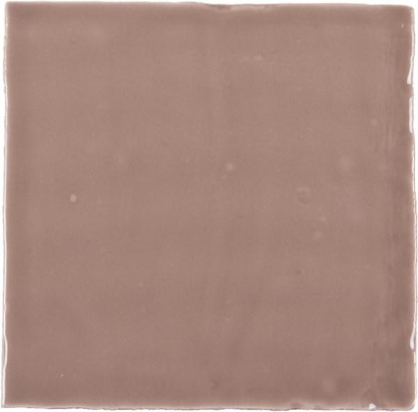 Natuurlijke wandtegel in de kleur bruin van Dannenberg Tegelwerken