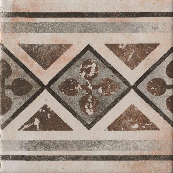 Sierlijke vloertegel in de kleur Bont/multicolor van Kierkels Tegels en Vloeren